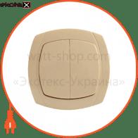 Выключатель 2-кл. BBсб10-2-0-Ov-I арт. BBсб10-2-0-Ov-I