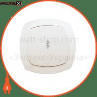 Выключатель 1-кл. проходной BBпсб10-1-0-Ov-W