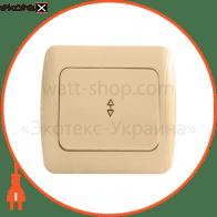 Выключатель 1-кл. проходной BBпсб10-1-0-Sq-I арт. BBпсб10-1-0-Sq-I