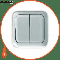 Выключатель двухкл., накладной  - C-SD-1379