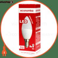 LED CN  6w E14-2800 Экономка светодиодные лампы экономка led лампа economka led cn  6w e14-2800