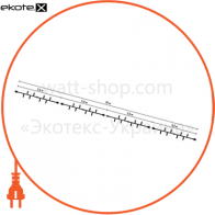 Наружная уличная гирлянда-нить String Light на резиновом кабеле, белая