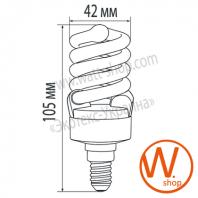 MLP-ES-15144 Eurolamp энергосберегающие лампы eurolamp 15w e14 4100k (мультипак)