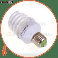 t2 spiral  20w e27 2700k энергосберегающие лампы eurolamp Eurolamp ES-20272