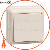 ВС20-1-0-ОКм Выключатель 1кл 10А видк.встан. ОКТАВА (кремовый)