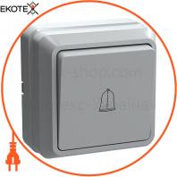 ВСк20-1-0-ОБ Выключатель 1кл кнопку. 10А ОКТАВА (белый)