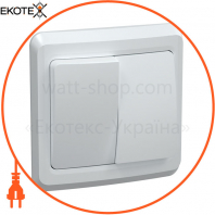 ВС10-2-0-ВБ Выключатель 2 кл 10А ВЕГА (белый) IEK