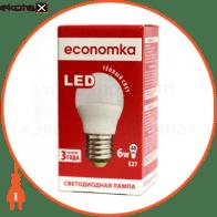 LED G45 6w E27-2800 Экономка светодиодные лампы экономка led лампа economka led g45 6w e27-2800