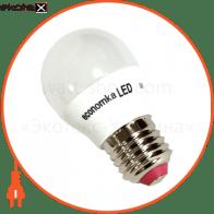 LED лампа Economka LED G45 6w E27-4200