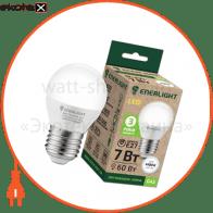 G45E277SMDNFR Enerlight светодиодные лампы enerlight лампа світлодіодна enerlight g45 7вт 4100k e27