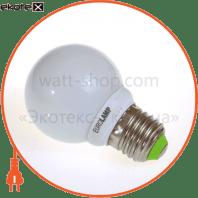 eurolamp клл globe 9w 4100k e27 (100)