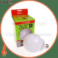 globe 26w 4100k e27 энергосберегающие лампы eurolamp Eurolamp GL-26274
