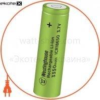 Аккумулятор литий-ионный Westinghouse Li-ion ICR18650, 3,7V, 3350mAh, 1шт