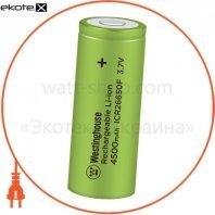 Аккумулятор литий-ионный Westinghouse Li-ion ICR26650, 3,7V, 4500mAh, 1шт