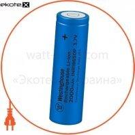Аккумулятор высокотоковый литий-ионный Westinghouse Li-ion INR18650,  3,7V, 2000mAh, 10С, 1шт