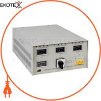 Стабилизатор напряжения трехфазный СНИ3- 3 кВА IEK IVS10-3-03000