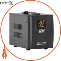 Стабилизатор напряжения переносной HOME СНР1-0- 1 кВА IEK IVS20-1-01000
