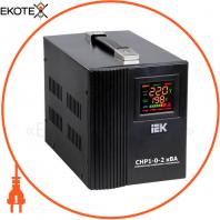 Стабилизатор напряжения переносной HOME СНР1-0- 2 кВА IEK IVS20-1-02000