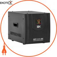 Стабилизатор напряжения переносной HOME СНР1-0- 3 кВА IEK IVS20-1-03000
