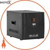 Стабилизатор напряжения переносной HOME СНР1-0- 8 кВА IEK IVS20-1-08000