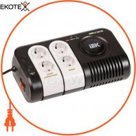 Стабилизатор напряжения переносной Simple 0,35 кВА IEK IVS25-1-00350