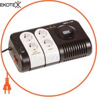 Стабилизатор напряжения переносной Simple 1,5 кВА IEK IVS25-1-01500