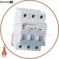 Автоматический выключатель ONESTO 3п С 16А MCB 6kA (KC6-K)