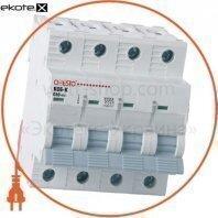 Автоматический выключатель ONESTO 4п С 32 MCB 6kA (KC6-K)