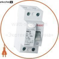 Дифреле ONESTO 1п+N 40А RCD 30mA, тип AC  (KRC3)