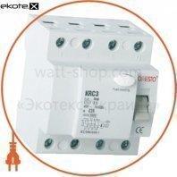 Дифреле ONESTO 3п+N 40А RCD 30mA, тип AC  (KRC3)