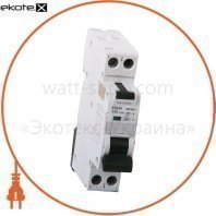 Дифавтомат ONESTO 1п+N, 16А, 30mA , тип AC/A, RCBO (KRCS2)