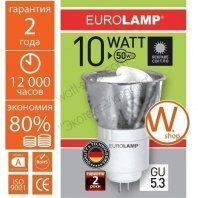 LN-10534 Eurolamp энергосберегающие лампы eurolamp tochka mr16 10w 4100k gu 5.3
