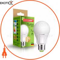 Классическая светодиодная EUROLAMP LED Лампа TURBO А60 7W E27 3000K