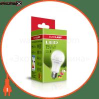 "EUROLAMP LED Лампа ЕКО серія ""D"" А60 15W E27 3000K (50)"