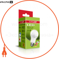 "EUROLAMP LED Лампа ЕКО серія ""D"" А60 15W E27 4000K (50)"