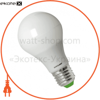 LED лампа A60 E27 7W 4100K Eurolamp