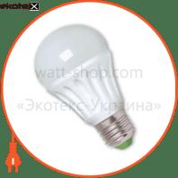 EUROLAMP LED Лампа керамік A60 9W E27 4100K (50)