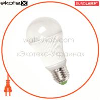 LED лампа A60 7W E27 4100K Eurolamp
