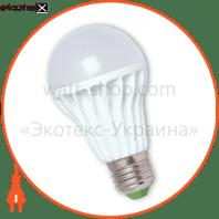 EUROLAMP LED Лампа пластик A65 13W E27 4100K (50)