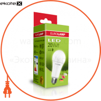 "EUROLAMP LED Лампа ЕКО серія ""D"" А75 20W E27 3000K"