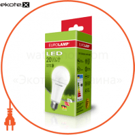 "EUROLAMP LED Лампа ЕКО серія ""D"" А70 20W E27 4000K"