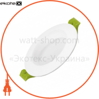 EUROLAMP LED Светильник круглый Downlight Exclusive 5W 3000K