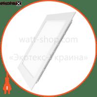 EUROLAMP LED Світильник квадратний Downlight NEW 24W 4000K (20)