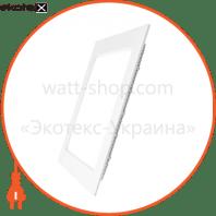 EUROLAMP LED Светильник квадратный Downlight NEW 6W 3000K (40)