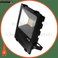 EUROELECTRIC LED SMD Прожектор черный с радиатором 150W 6500K