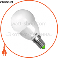 LED лампа G45 5W E14 3000K Eurolamp