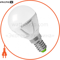 EUROLAMP LED Лампа TURBO G45 5W E14 3000K (50)