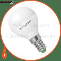 LED лампа G45 5W E14 4000K Eurolamp