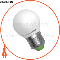 LED лампа G45 5W E27 3000K Eurolamp