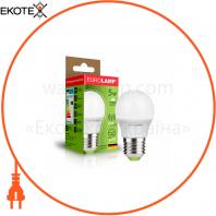"""Светодиодная EUROLAMP LED Лампа """"Шар"""" ЕURO G45 5W E27 3000K"""